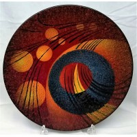 ALAN CLARKE STUDIO COSMIC DESIGN 41cm CHARGER DISH
